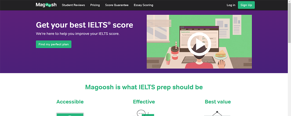 Magoosh IELTS site