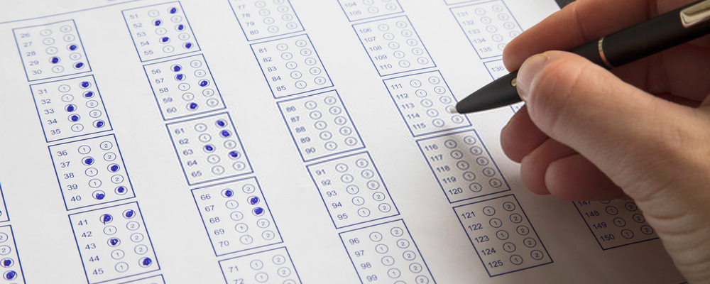 Filling exam questionnaire