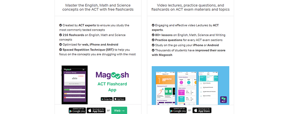 Magoosh ACT Mobile App