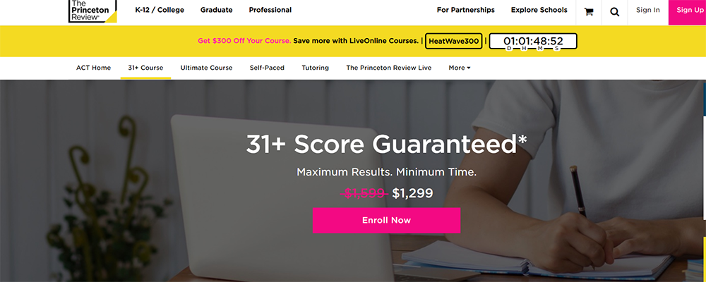 The Princeton Review 31+ Course