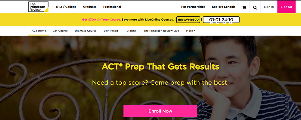 The Princeton Review ACT