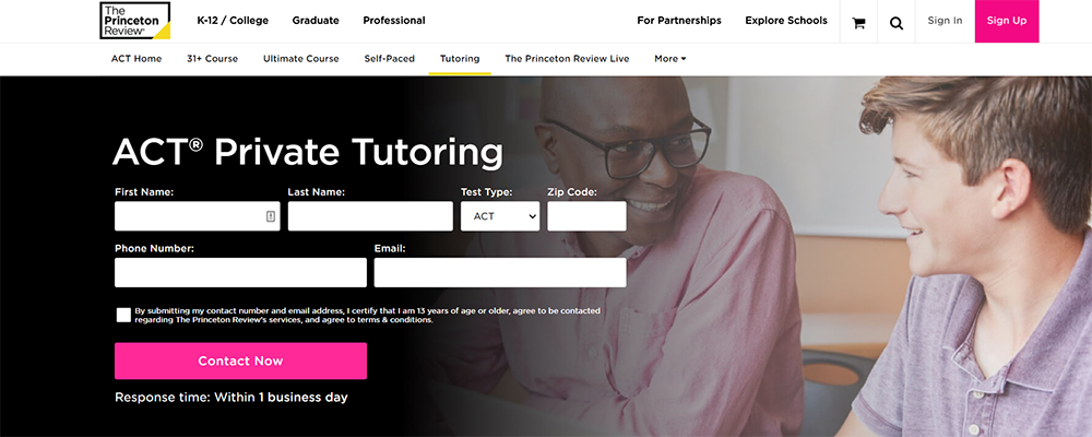 The Princeton Review ACT Tutoring