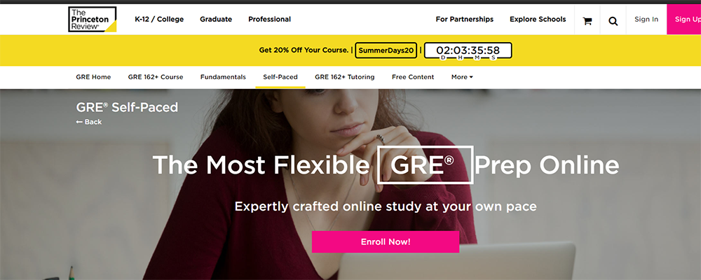 The Princeton Review GRE Self Paced