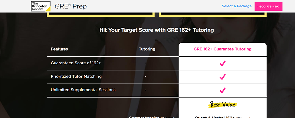 The Princeton Review GRE Tutoring