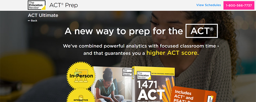The Princeton Review Ultimate Course